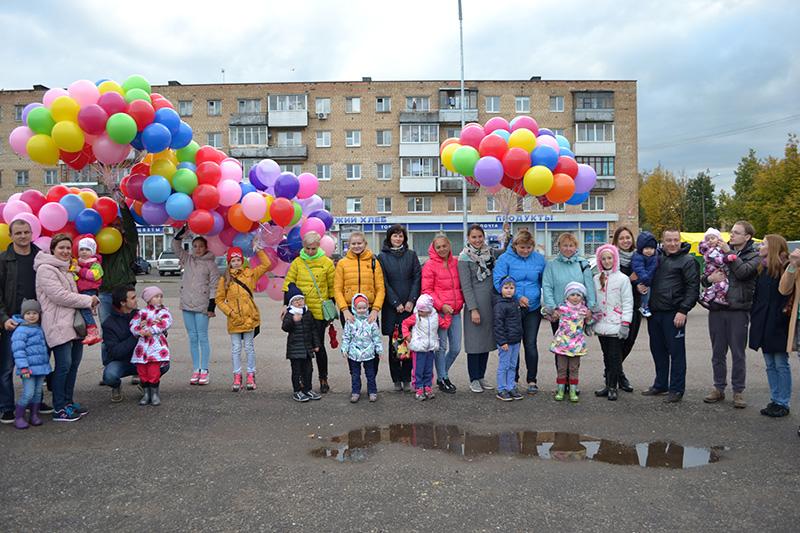 А с наших шаров началась золотая осень!!!!)))